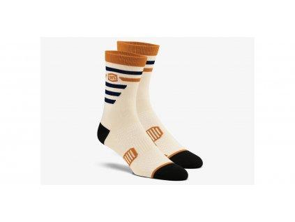 ponožky ADVOCATE, 100% - USA (béžové)