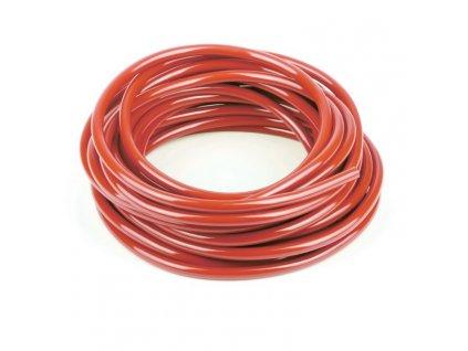 Palivová hadička, průměr 6mm, délka 1m, červená