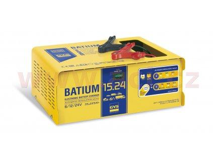 nabíječka GYS BATIUM 15.24 6/12/24 V, 225 Ah, 15 A