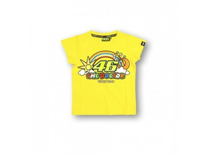 VR46 - dětské triko žluté