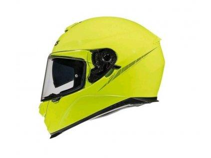AXXIS EAGLE SV ABS solid fluor yellow gloss integrální přilba
