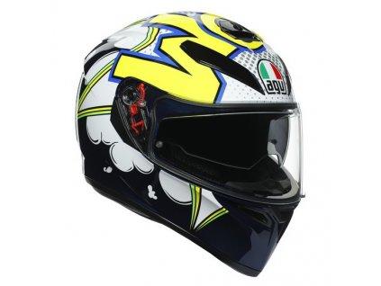 AGV K3 SV MPLK Bubble helma vel. L