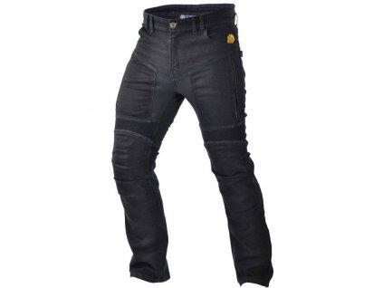 TRILOBITE 661 PARADO MEN TÜV CE kevlarové jeansy, černé