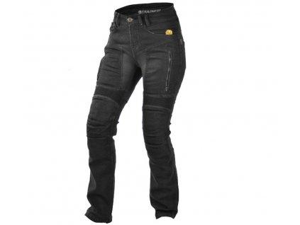 TRILOBITE 661 PARADO LADY TÜV CE BLACK kevlarové jeansy