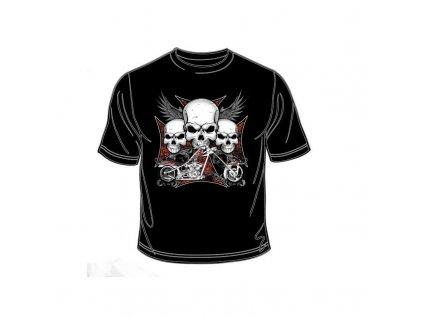Pánské tričko - Iron Cross Chopper II