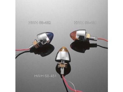 Svítící šroub Highway Hawk STARCAP s LED, modrý (1ks)