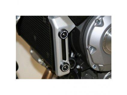 Chrániče chladiče, Aprilia Mana '08-, černé