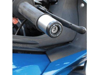 Závaží RG Racing do řidítek pro motocykly BMW K1200 R / S  K1300 R / S, černá (pár)