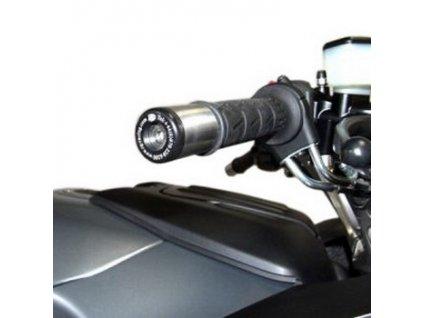 Závaží RG Racing do řidítek pro motocykly KAWASAKI ZZR 1400, ZX-7R, Z1000  GTR1400, černá (pár)