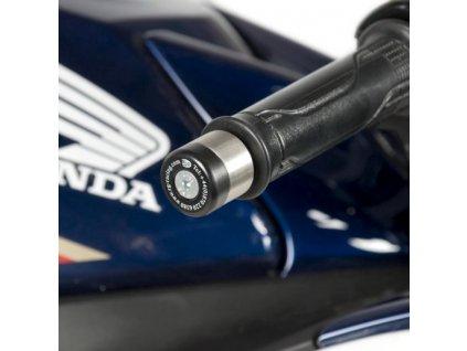Závaží RG Racing do řidítek pro motocykly HONDA (různé modely), černá (pár)