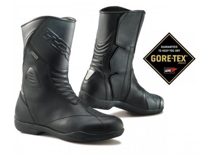 3e1f1591231 TCX X-FIVE EVO Gore-Tex - moto boty černé vel. 44 - MotoNero.cz