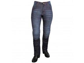 Dámské jeansové moto kalhoty ROLEFF Aramid Lady