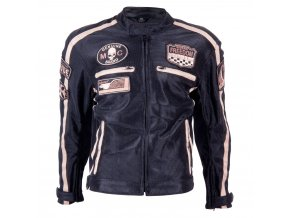 Letní moto bunda BOS 6488 černá