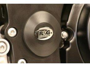 Zátka do rámu, dolní, pravá Suzuki GSX-R1000 '07-, černá