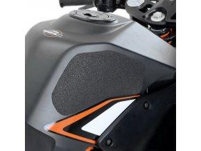 Protiskluzová ochranná fólie na nádrž pro KTM RC 125 a RC 200 (černá)
