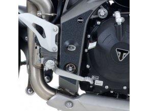 Ochranný polep rámu RG Racing Triumph Speed Triple '11- černá