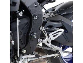 Ochranný polep rámu a kyvky RG Racing Yamaha MT-10 2016-, černá