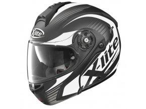 Moto helma X-Lite X-1004 Nordhelle N-Com Flat Black-White