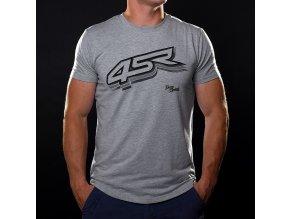 4SR Tshirt Logo Grey 1