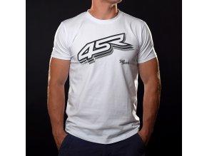 4SR Tshirt Logo White 1