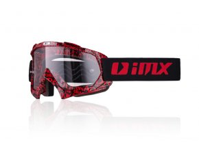 MX IMX BRÝLE MUD GRAPHIC RED BLACK
