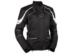 MBW NIKITA BLACK dámská textilní bunda