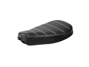 Sedlo Bobber Typ 3 Tuck N' Roll - černé