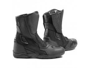 REBELHORN SCOUT AIR pánské moto boty černé