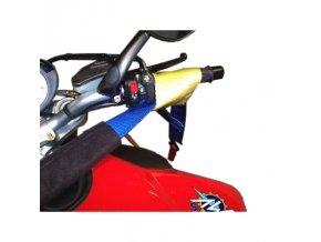 Popruh pro uvázání motocyklu za řidítka