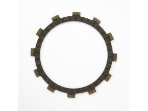 Spojková lamela (rozměry 148x116x2.8, 12 zubů)