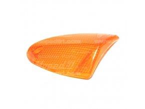 Sklíčko blinkru, přední pravý APRILIA SR DITECH 50 / SR 50 STREET / LEONARDO 125-150-250 (99-01) / LEONARDO 125-150-250 ST (01-) ž