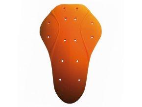 Chrániče loktů d3o, uni, oranžové