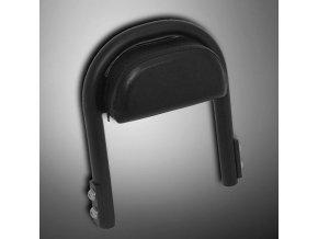 Samostatná opěrka spolujezdce Highway Hawk LOW BACKREST, černá (1ks)