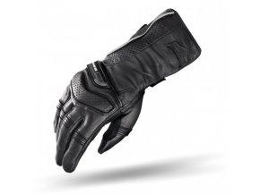 SHIMA D-TOUR - kožené rukavice na motorku, černé