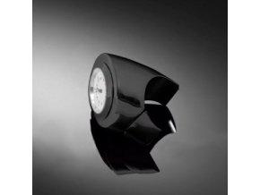 Highway Hawk Hodinky ANGLE na řídítka o průměru 25/32mm, černá/bílý ciferník
