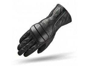 SHIMA RIDE - kožené rukavice na motorku i skútr, černé