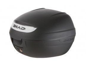 SHAD DOB26100 SH26 black matt vrchní kufr na motorku