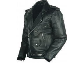 NAZRAN CHOPPER - kožená bunda, křivák