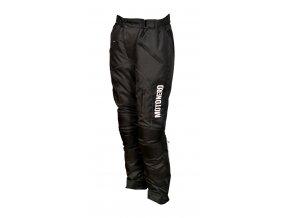 MOTO NERO textilní moto kalhoty černá/bílá