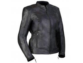 MBW OLIVIA dámská kožená bunda černá