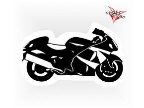 MOTO SAMOLEPKA silniční moto II v rozměru 15x7,5 cm