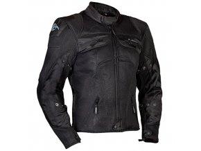MBW LIME AIR´n´DRY dámská i pánská textilní bunda černá s pláštěnkou