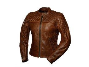 4SR SCRAMBLER COGNAC dámská kožená bunda