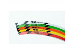 Proužky na ráfky RG-Racing, zelená