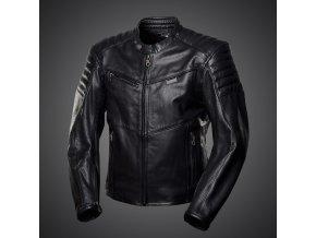 4SR B-MONSTER - pánská kožená bunda černá