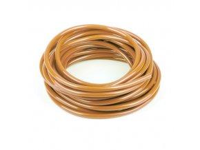 Palivová hadička, průměr 6mm, délka 1m, oranžová
