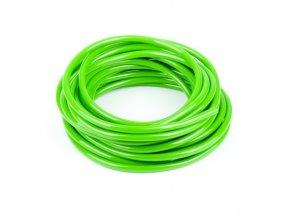 Palivová hadička, průměr 6mm, délka 1m, zelená
