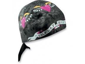 ZANHEADGEAR WOMEN'S FLYDANNA Hearts & wings - šátek na hlavu