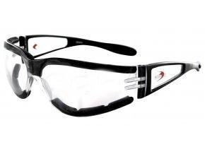 BOBSTER SHIELD II motocyklové brýle - čiré sklo