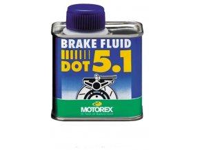 MOTOREX BRAKE FLUID DOT 5.1 brzdová kapalina 250 g